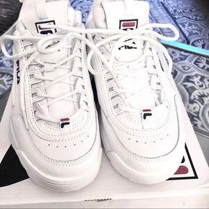 Fila Disruptor II Premium Sneakers White
